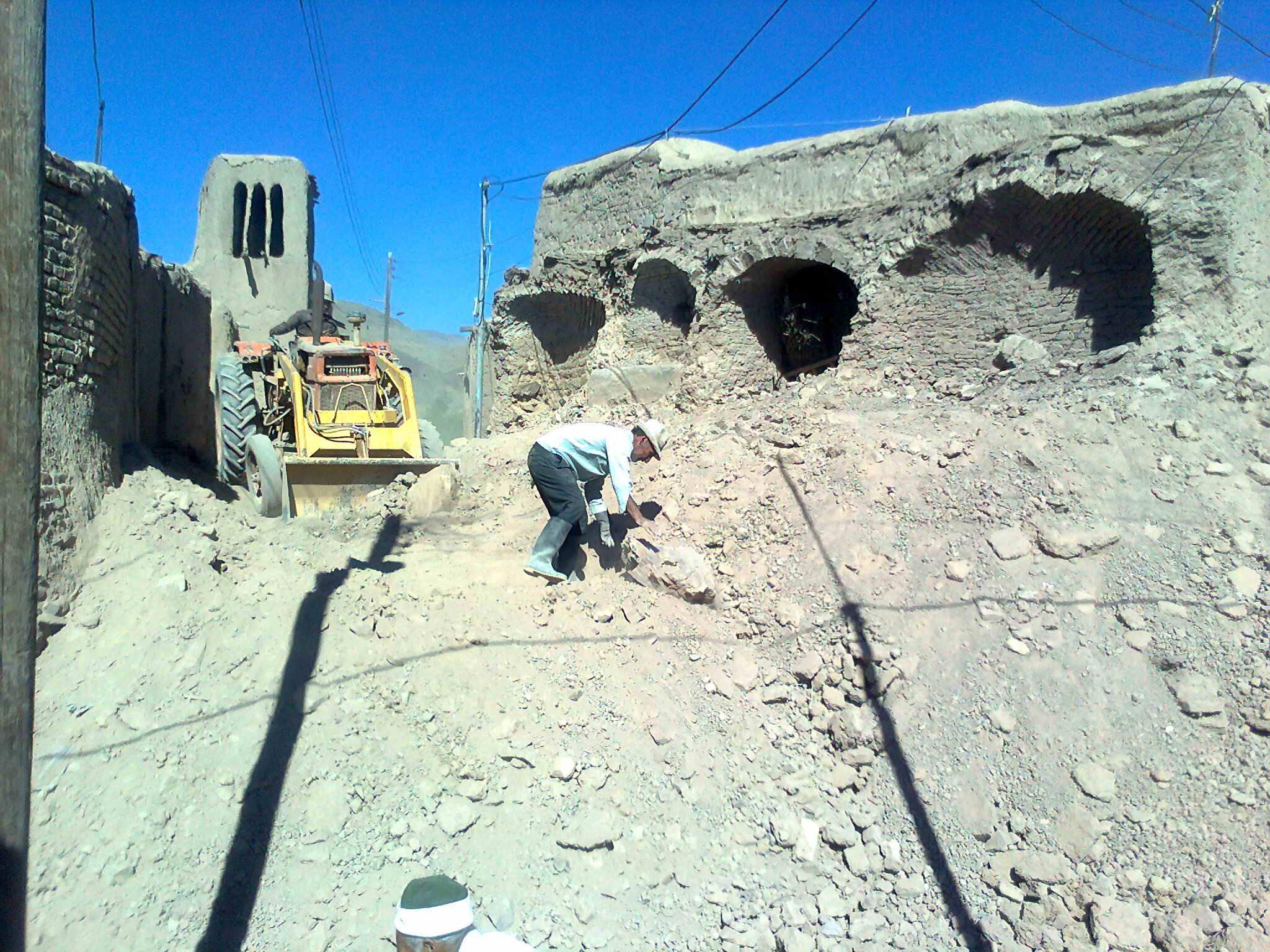 تخریب خانه محمد صابری 14خرداد 89